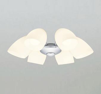 【法人限定】WF807PC1【オーデリック】シーリングファン 灯具[乳白ケシガラス・6灯] 調光器不可~8畳【返品種別B】