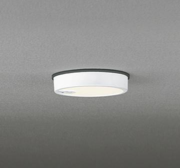 OG254522 [ OG254522 ]【オーデリック】 照明器具軒下用LED小型シーリングライト FLAT PLATE [フラットプレート エクステリア]電球色 白熱灯100W相当 人感センサ ON-OFF型【返品種別B】