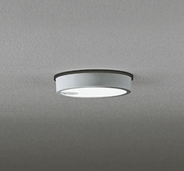 OG254525 [ OG254525 ]【オーデリック】 照明器具軒下用LED小型シーリングライト FLAT PLATE [フラットプレート エクステリア]昼白色 白熱灯100W相当 人感センサ ON-OFF型【返品種別B】