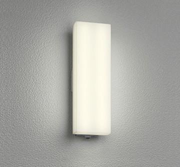 OG254245 [ OG254245 ]【オーデリック】 照明器具エクステリア LEDフラットポーチライト電球色 白熱灯60W相当 人感センサ【返品種別B】