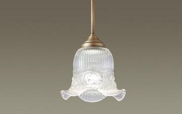 【法人限定】LGB15367K【パナソニック】吊下型 LED(電球色) ペンダントガラスセードタイプ 直付タイプ【返品種別B】
