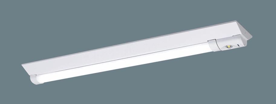 【法人限定】XWG462DGN LE9 [ XWG462DGNLE9 ]【パナソニック】天井直付型 40形一体型LEDベースライト(非常用)30分間タイプ防湿型・防雨型・自己点検スイッチ付・リモコン自己点検機能付・非常時LED一般出力型【返品種別B】