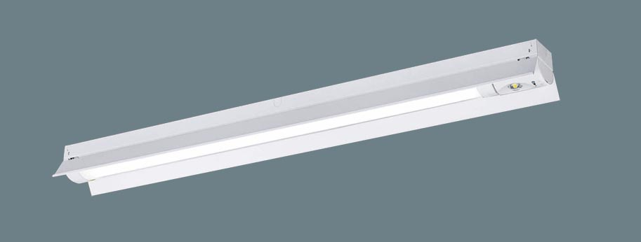 【法人限定】XWG412KGN LE9 [ XWG412KGNLE9 ]【パナソニック】天井直付型 40形一体型LEDベースライト(非常用)30分間タイプ防湿型・防雨型・自己点検スイッチ付・リモコン自己点検機能付・非常時LED一般出力型【返品種別B】