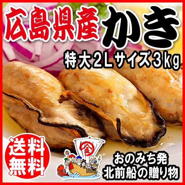 Hiroshima production (commercial) freezer an Oyster oversized 1 kg × 3 bags Hiroshima installation of oyster and does not Oyster pot set Oyster / oysters / / translation/sale / bargain / BBQ set