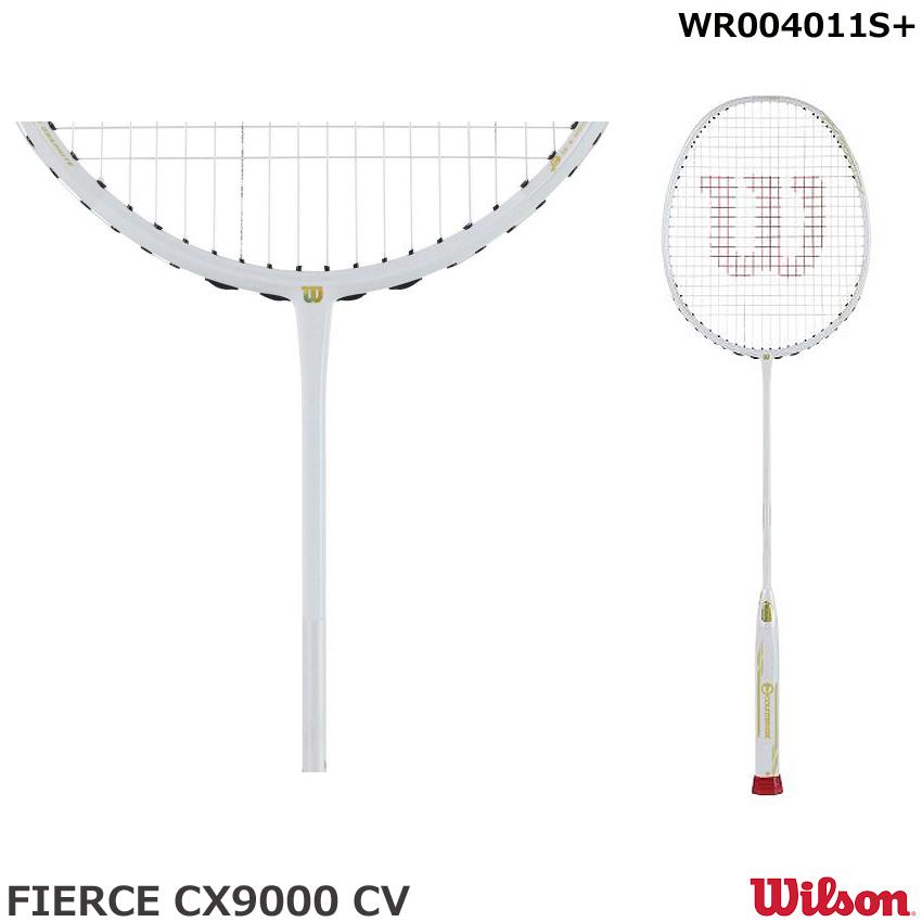【バドミントンラケット ウイルソン】 FIERCE CX9000 CV  WR004011S (サイズ5UG5)ウイルソン
