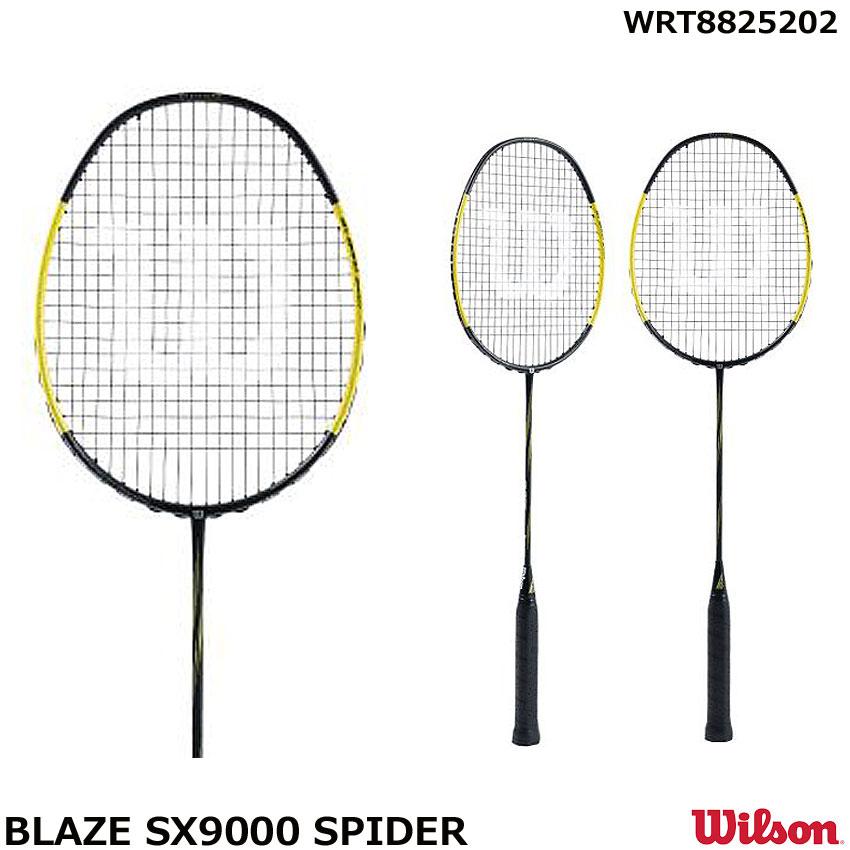 ウイルソン バドミントンラケットラケット  BLAZE SX9000 SPIDER WRT8825202 サイズ 6U-5