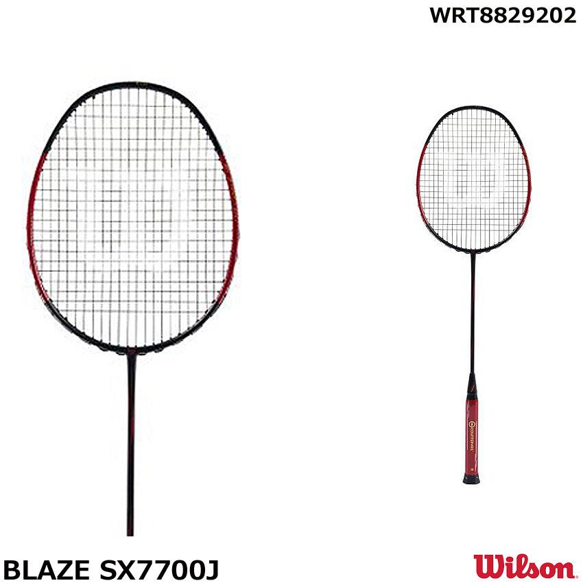 ウイルソン バドミントンラケットラケット  BLAZE SX7700J CV WRT8829202 サイズ 4U-5