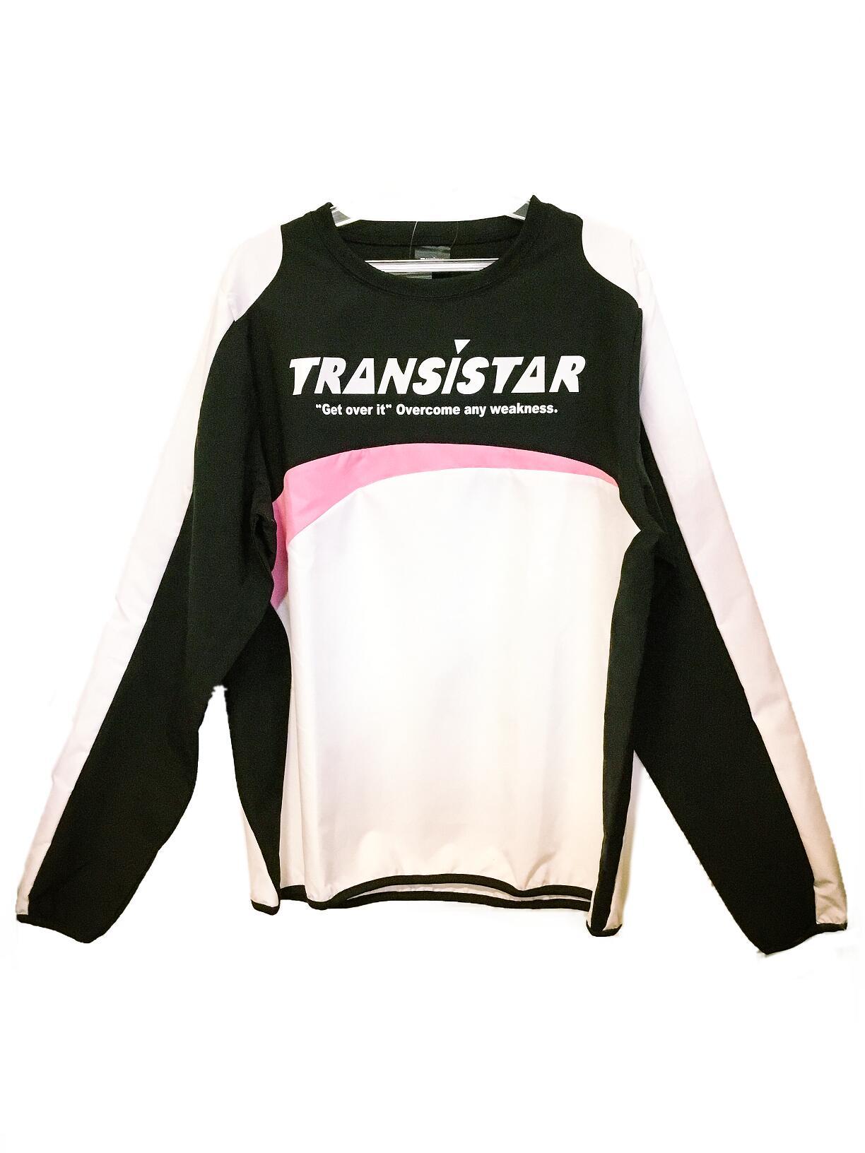 TRANSISTAR 高級な トランジスタ ピステジャケット ハンドボール ハンドボールウェア 06 営業 ピンク HB19AT04 ブラック