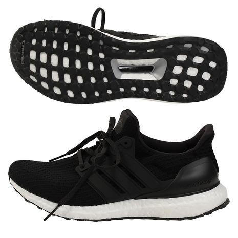 adidas ULTRA BOOST アディダス ウルトラブースト メンズ ランニング&ウォーキング ブラック/ホワイト BB6166 【スポーツ用品】