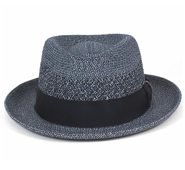 貝利伊帽子威爾希爾深藍帽子BAILEY HAT WILSHIRE NAVY[草帽帽子人帽子舒適之帽]