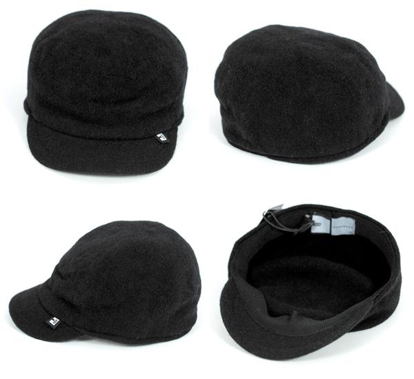 男子的女子的ブロックヘッドウエアキャップブリーカーBLOCK HEADWEAR BLEEKER [帽子腦袋齒輪羊毛帽子塊腦袋服裝BLOCKHEADWEAR高爾夫球][BK] #CP