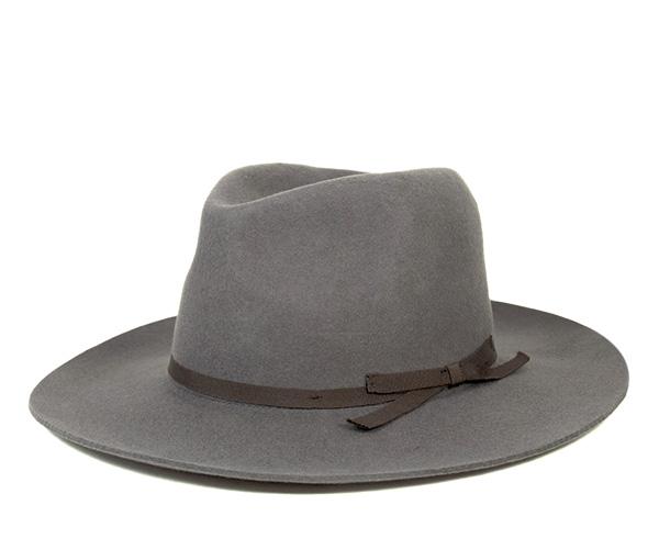 2009bc1bcb854 onspotz  Brixton Fedora Hat York Grey Hat BRIXTON FEDORA HAT YORK ...