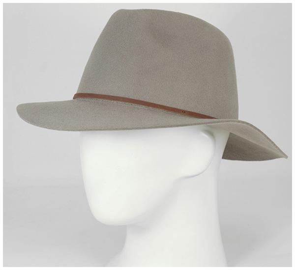 布裡克斯頓 Fedora 帽子衛斯理自然帽子布裡克斯頓 FEDORA 帽子衛斯理自然