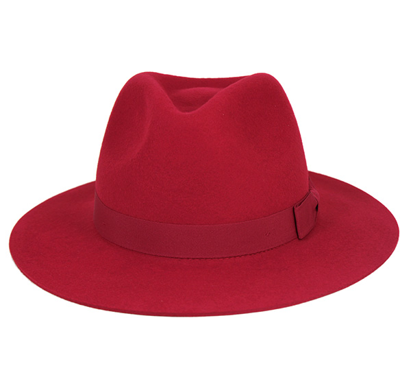 66bac7b47d2ad ... Brixton Fedora hat in red hats BRIXTON WOMENS FEDORA HAT INDIANA RED ...