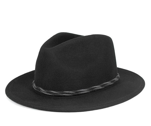 onspotz  Brixton Fedora Hat Corbett Black Hat BRIXTON WOMENS FEDORA ... 8a64fd2e267