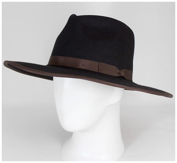 ブリクストン BRIXTON フェドラハット ホームステッド ブラック 帽子 FEDORA HAT HOMESTEAD BLACK返品・交換対象外0OP8wXnk