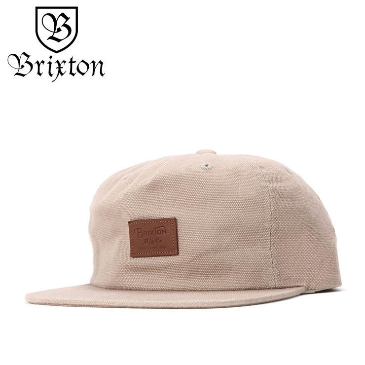 ブリクストン キャップ スナップバック GRADE II UC サンド BRIXTON 帽子 ぼうし ブランド おしゃれ 春夏 夏 メンズ帽子 レディース帽子 メンズキャップ レディースキャップ スナップバックキャップ
