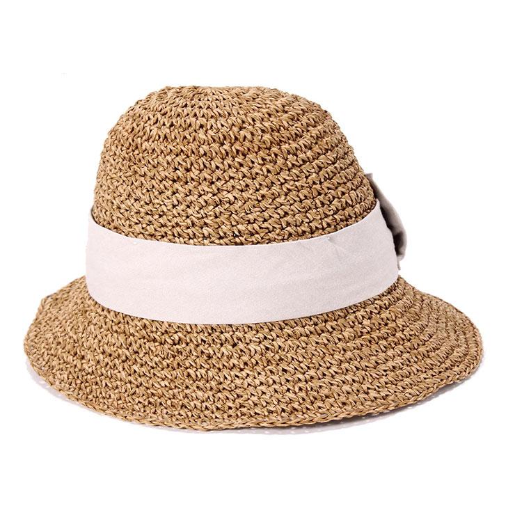 カブロカムリエ キャスケット laura 帽子 レディース 春 夏 麦わら リボン 全3色 CabloCamurie || つば広 つば広ハット 旅行 折りたたみ 麦わら帽子 あごひも レディース帽子 春夏 夏帽子 【専用あごひも対応】