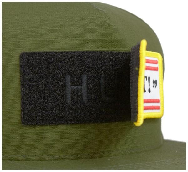 hafusunappubakkukyapputakutikarufakkuittorippusutoppuoribu帽子HUF SNAPBACK CAP TACTICAL FUCK IT RIPSTOP OLIVE[人][GN]#CP:S