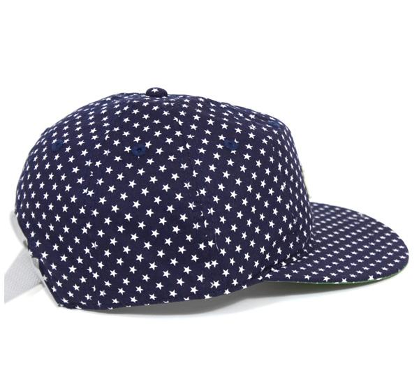 裁判員黑人聯賽6面板蓋子紐約黑色揚基隊深藍帽子UMPIRE NEGRO LEAGUE 6PANEL CAP NEW YORK BLACK YANKEES NAVY人[NV]#CP:O[P]