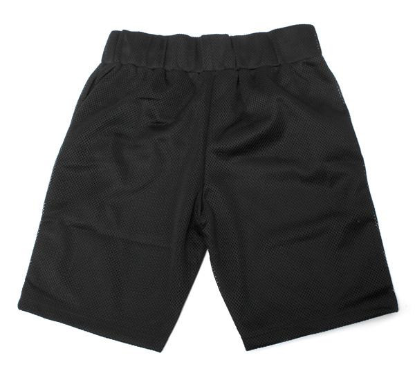 黑色的鱗片短褲法術藤黑黑規模短褲 SPELVIN 黑色 [男式短袖 T 恤服裝] 和 [BK] #AP: TS