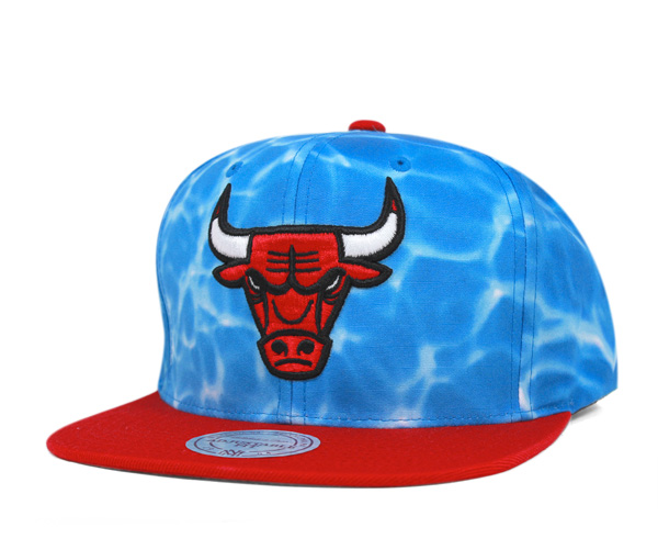 Mitchell and Ness snap back Cap surf ducks Chicago Bulls Blue Hat MITCHELL  NESS SNAPBACK CAP ... a52493ccd10