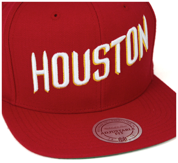 74df365aa Mitchell and Ness snap back Cap wool solid Houston Rockets Red Hat MITCHELL  NESS SNAPBACK CAP WOOL SOLID 2 HOUSTON ROCKETS RED #CP [men's hat Cap ...