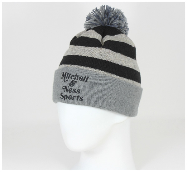 Mitchell /& Ness NBA Speckled Oatmeal Knit Hat