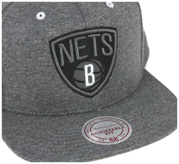 Mitchell and Ness snap back Cap broad Street Brooklyn nets gray hat MITCHELL NESS SNAPBACK CAP NBA BROAD STREET 2.0 BROOKLYN NETS GREY [men's hat Cap Snapback Hat], [GY] #CP: S 10P01Oct16