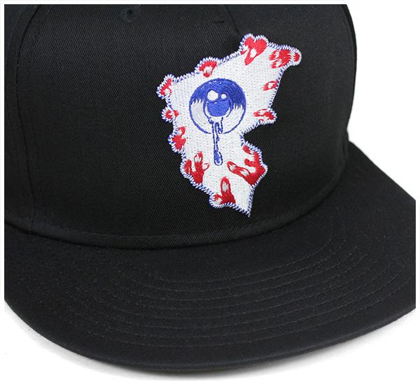 費伊鱒魚明星&吊帶(Famous Stars&Straps)mishikasunappubakkukyappuorushiinguburakku帽子MISHKA SNAPBACK CAP ALL SEEING F BLACK[蓋子人帽子突然彈回]