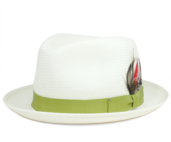 ベイリー(Bailey Hats) ストローハット 中折れ 麦わら帽子 ガスリー ナチュラル 帽子 HAT GUTHRIE NATURAL メンズ【返品・交換対象外】