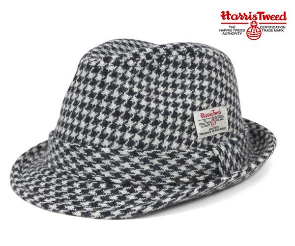 Caballero x Harris Tweed Trilby Hat Malaga white hat caballeryo×Harris TWEED  TRILBY HAT MALAGA WHITE d7102de3d35
