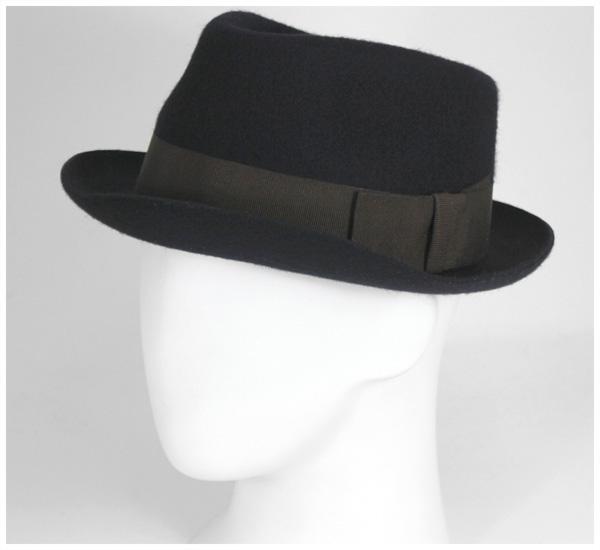 Christie s London Hat Whitstable trial Benabid Hat CHRISTYS LONDON HAT  WHITSTABLE TRILBY NAVY  NV   HA  F 859ff0b4a95