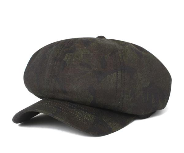 kyabarerokyappukyasukettoarumeriajapandenimupanamakamoburakku帽子CABALLERO CAP CASQUETTE ALMERIA JAPAN DENIM PANAMA CAMO BLACK[大的尺寸人][BK]#CQ