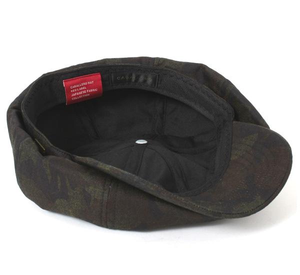 卡瓦列羅帽報童阿爾梅裡亞日本牛仔布巴拿馬迷彩黑帽子 CABALLERO 帽 CASQUETTE 阿爾梅裡亞日本牛仔布巴拿馬迷彩黑色 [大尺寸男士] 和 [BK] #CQ 10P01Oct16