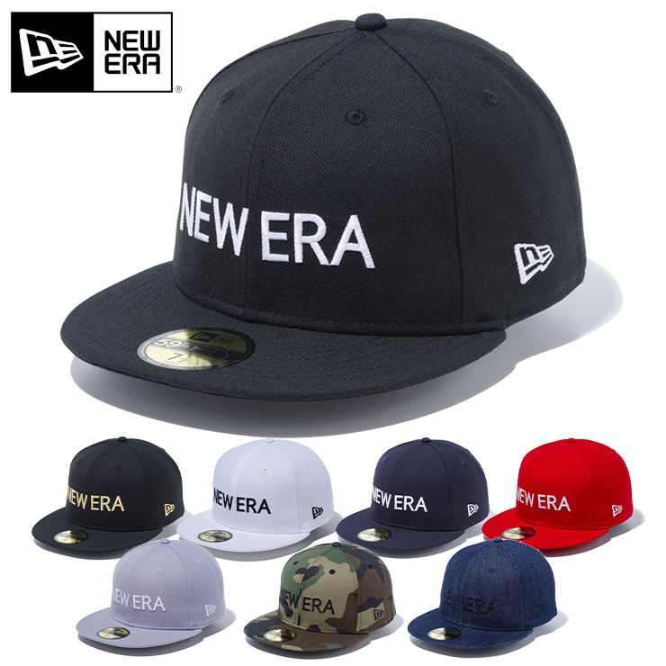 ニューエラ NEW ERA 帽子 キャップ 59FIFTY BOLD ブラック 野球帽 ベースボールキャップ ロゴ メンズ CAP 安売り 無料 フラットバイザー 展開 サイズ 春夏秋冬 フラット レディース