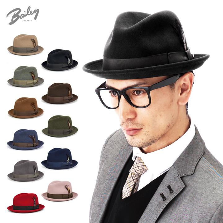 1b8bc0b1284a8 Bailey felt Fedora wool caps   hats Chino 7001 all 10 colors BAILEY TINO  FELT HAT  HA  F