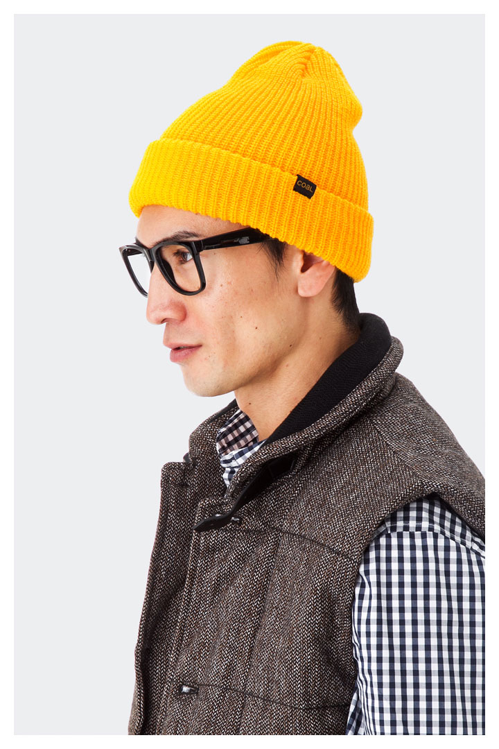 Outlet prices call headwear caps Stanley gold Hat COAL HEAD WEAR KNIT CAP  THE STANLEY GOLD  knit Cap large size mens ladies  7c068a87766e