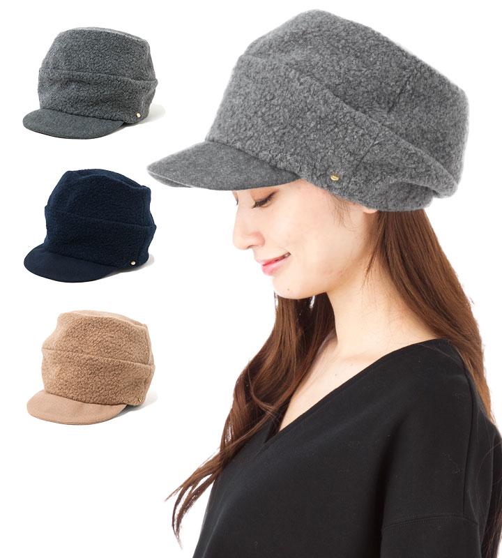 帽子 レディース キャスケット フェヌア FENUA 2段 MOKO 全3色