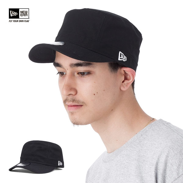 新時代帆布軍用帽帽黑色帽子威龍 WM-01