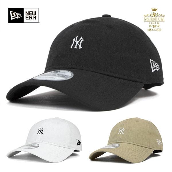 onspotz  New era New York Yankees low back strap Cap mini logo ... eaf43c7031e
