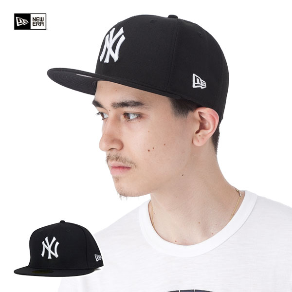 NY Yankees black / white NEWERA NEW YORK YANKEES BLACK/WHITE