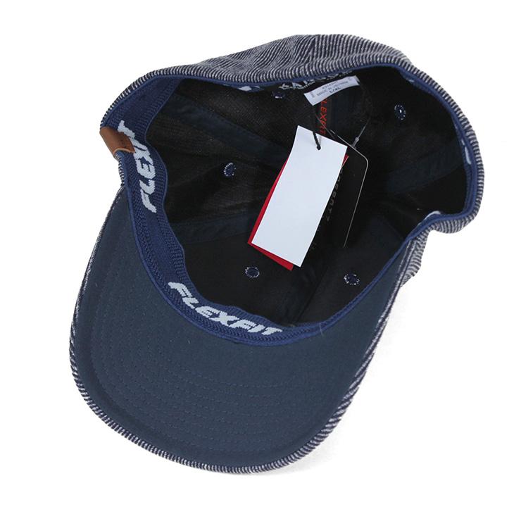 905f6840a Proflex Stretch Fit Mesh Baseball Cap Custom Caps Colours Size Black ...