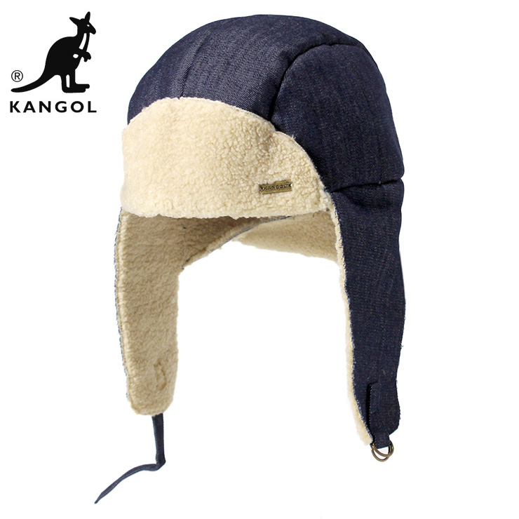 カンゴール キャップ 耳あて付き ゴルフ FAUX SHEARLING キャップ ... 1f48072a6f39