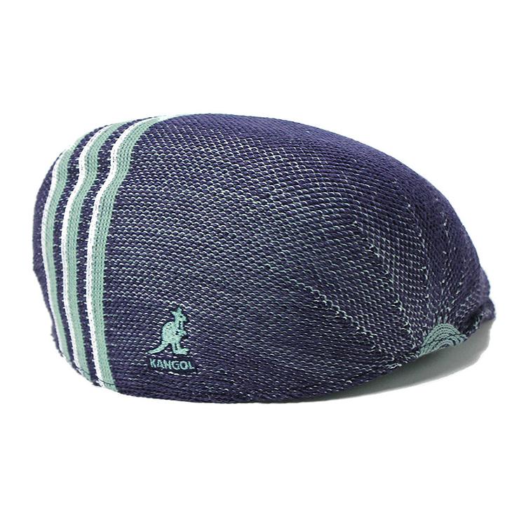 夏 レディース帽子 帽子 春夏 ブランド カンゴール ネイビー ハンチング帽 507 TRAVEL STRIPE ハンチング帽子 ハンチング メンズ帽子 KANGOL 大きいサイズ ぼうし おしゃれ