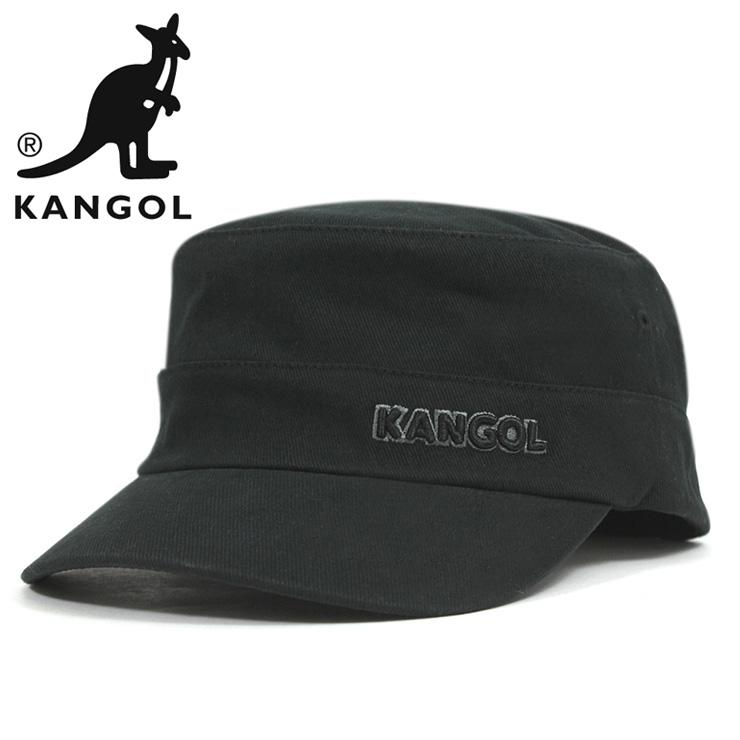 6c3fe9e8c89 KANGOL Cap cotton twill Cap Army military Cap Black KANGOL COTTON TWILL  ARMY CAP BLACK  CP  W