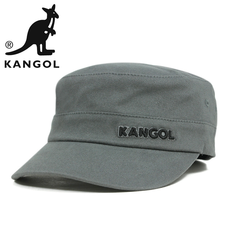 82fb2ffb5d76fb KANGOL Cap cotton twill Cap Army military Cap grey KANGOL COTTON TWILL ARMY  CAP GREY ...