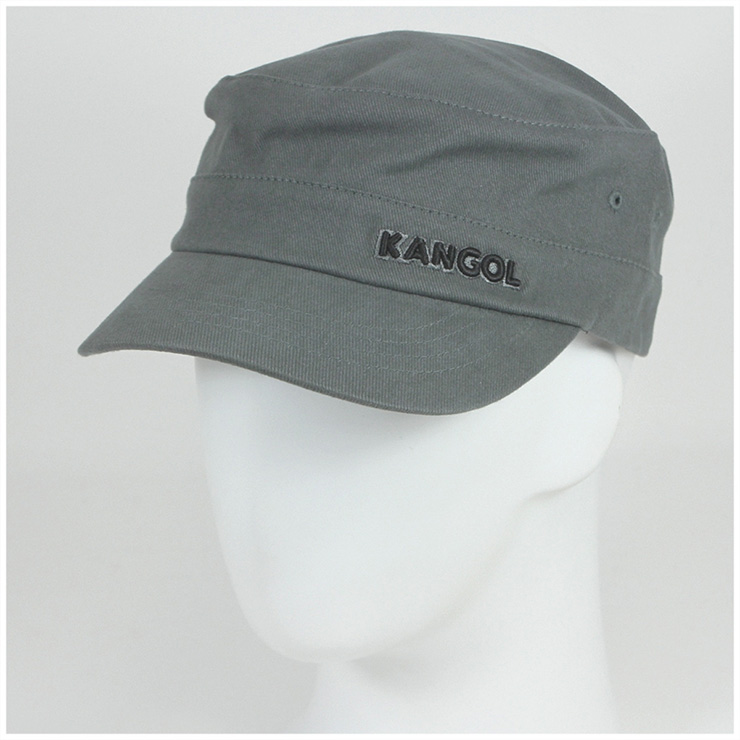 4c6ba0d0bc6 KANGOL Cap cotton twill Cap Army military Cap grey KANGOL COTTON TWILL ARMY  CAP GREY  CP  W