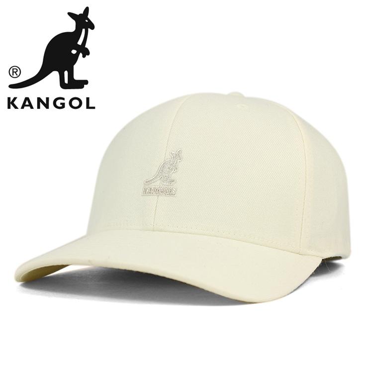 3659b8b9b376f KANGOL wool Flex fit Cap white KANGOL WOOL FLEXFIT BASEBALL WHITE  large  CAP size mens ladies golf hat
