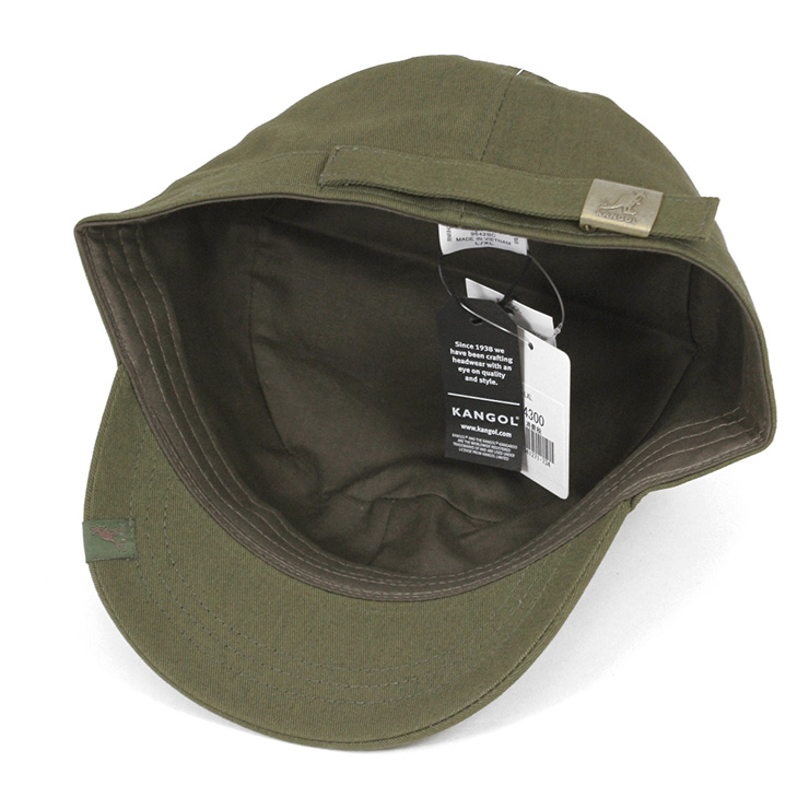 3f3d3d21fdf KANGOL Cap cotton Adjustable Cap Army military Cap Army Green KANGOL COTTON  ADJUSTABLE ARMY CAP ARMY GREEN  CP  W